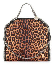 Falabella Small Leopard-Print Tote Bag