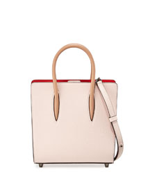 Paloma Small Triple-Gusset Tote Bag, Nude