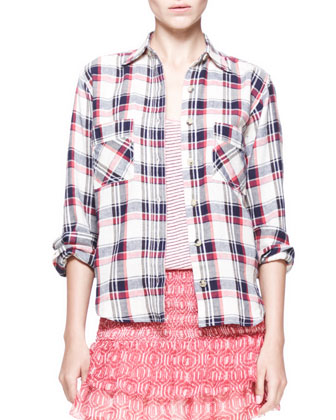 Ugo Plaid Button-Down Shirt