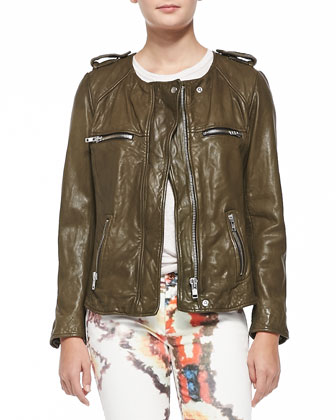 Bacuri Leather Jacket