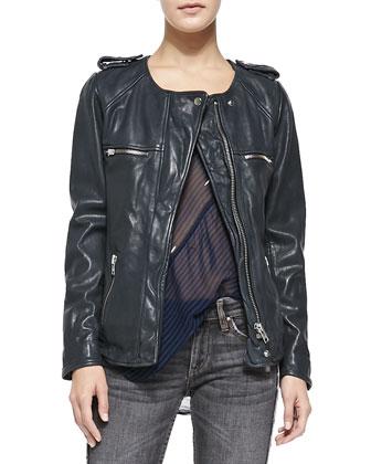 Bacuri Leather Jacket
