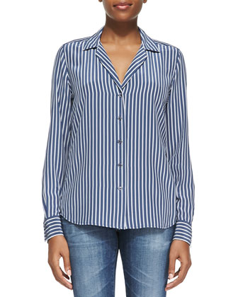 Adalyn Menswear Striped Shirt