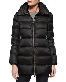 Torcy Classic Zip Puffer Jacket
