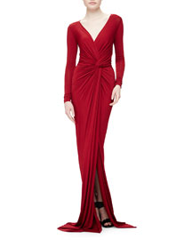 Twist-Knot Superfine Jersey Gown