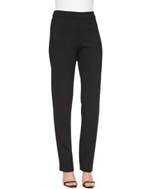 Double-Face Wool Skinny Pants