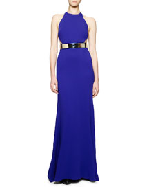 Octavia Side Cutout Gown