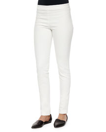Stratton Stretch Leggings, White