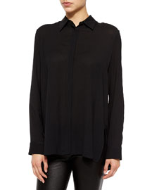 Carlton Long-Sleeve Placket Shirt