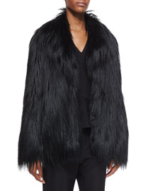 Faux-Fur Short Coat