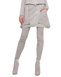 Napa Leather Apron Skirt
