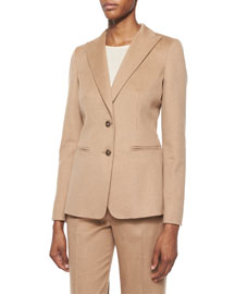 Palude Camel Hair Two-Button Jacket