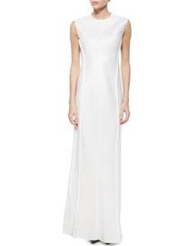 Sista Sleeveless Gown, Rose Cream