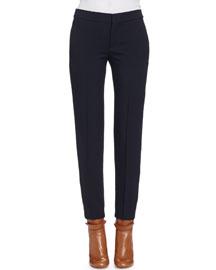 Classic Pressed Seam Skinny Pants