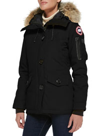 Montebello Parka with Fur Hood