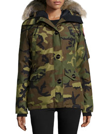 Montebello Parka with Fur Hood, Camo