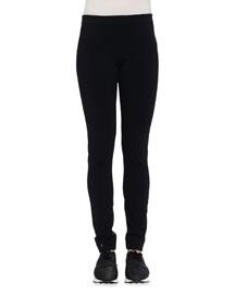 Jersey Compact Straight-Leg Leggings