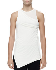 Asymmetric Twisted Tank Top