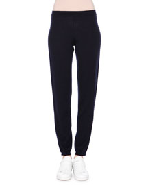 Knit Cashmere Track Pants