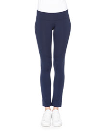 Seamed Jersey Sport Leggings