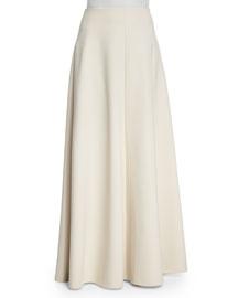 Afrol A-Line Skirt, Ivory Cream