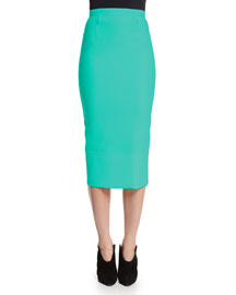 Capsule Collection Galaxy Wool Pencil Skirt