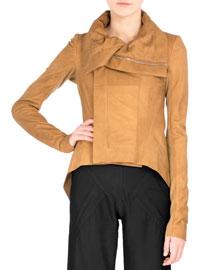 Tailback Leather Biker Jacket