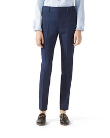 Silk-Wool Pant