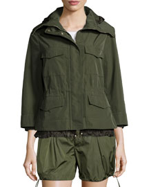 Paquerette 3/4-Sleeve Jacket, Military
