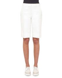 Cotton Bermuda Shorts, Anemone