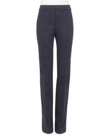 Farrah Techno Cotton Pants, Starling