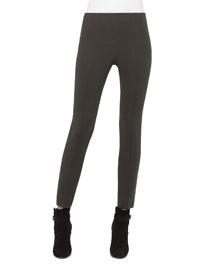 Melissa Techno Slim-Leg Pants,Turtle