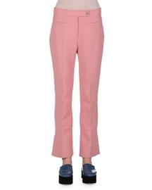 Tulip Flare-Cuff Cotton Pants, Jaipur