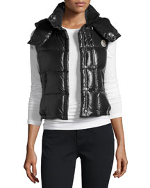 Galene Shiny Hooded Vest