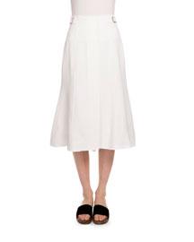 High-Waist Trumpet Skirt