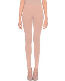 Knit Slim-Fit Leggings