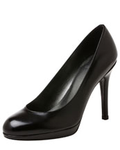 Stuart Weitzman Platswoon Kidskin Leather Pump