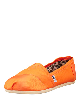 Grosgrain Slip-On, Orange