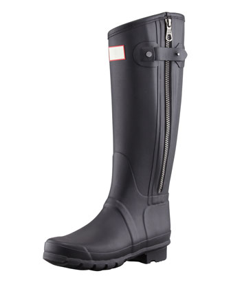 Rag & Bone Tall Zip Boot, Black