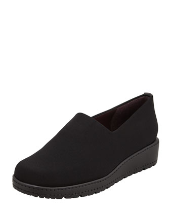Sofa Stretch Pull-On Loafer, Black