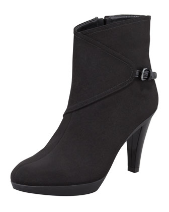 Gorgeous Gore-Tex Buckled-Side Bootie