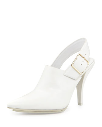 Kati Pointed-Toe Slingback Pump, Peroxide