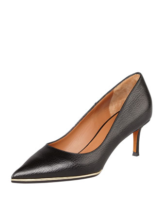 Metal-Midsole Pointy Pump