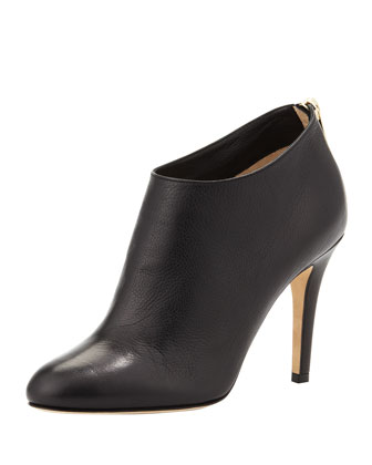 Mendez Leather Ankle Boot, Black