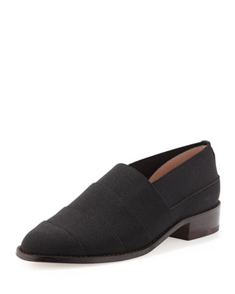 Elastica Stretch Loafer, Black