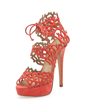 Goodness Gracious Sandal, Coral