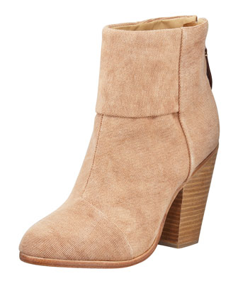 Newbury Classic Canvas Boot, Camel