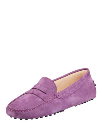 Penny Keeper Moccasin, Purple