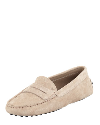 Penny Keeper Moccasin, Gray