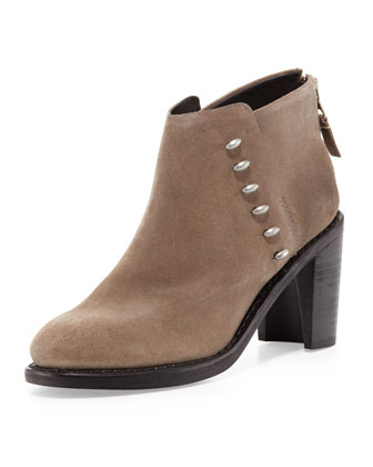 Ayle Suede Ankle Boot, Clay