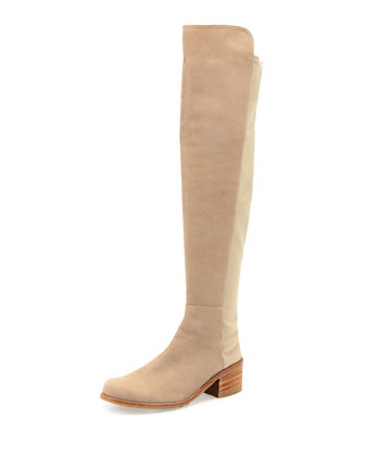 Reserve Nubuck Over-the-Knee Boot, Tan